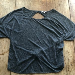 Victoria's Secret open back w/ tie T-shirt